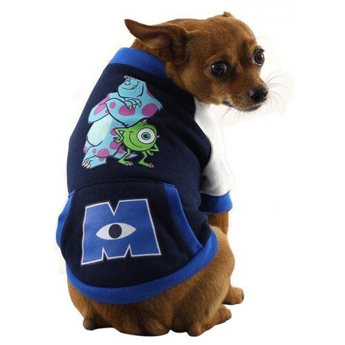 Свитер для собак Triol Disney Monsters L синий/черный/белый футболка для собак triol disney mickey xs белый черный