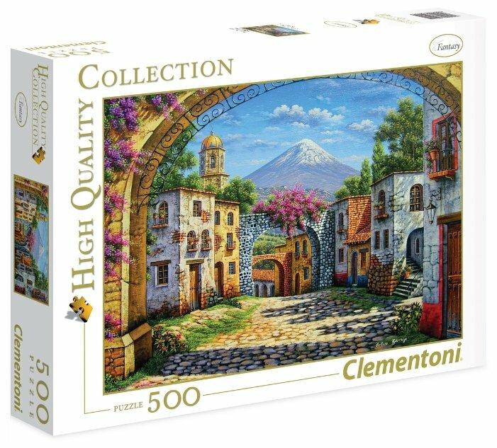 Пазл Clementoni High Quality Collection Артуро Заррага Вулкан (35025), 500 дет.