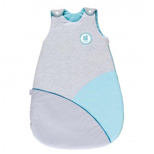 Купить Конверт-мешок Candide спальный Cosy 68 см серый/бирюзовый, Конверты и спальные мешки