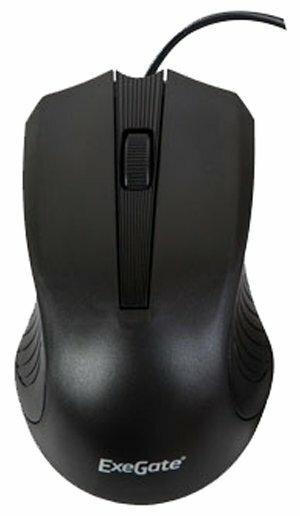 Мышь ExeGate SH-9015 Black USB
