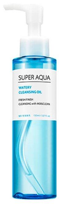 Missha гидрофильное масло Super Aqua Watery Cleansing Oil — купить по выгодной цене на Яндекс.Маркете