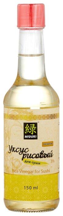 Уксус Midori рисовый для суши премиум 3%, 150мл