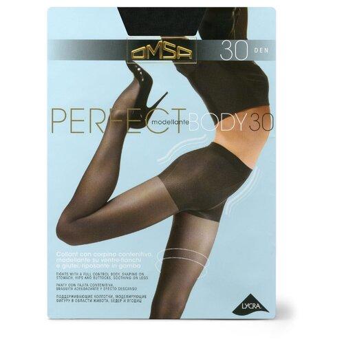 Колготки Omsa Perfect Body 30 den, размер 3-M, nero (черный) колготки omsa silhouette 15 den размер 3 m nero