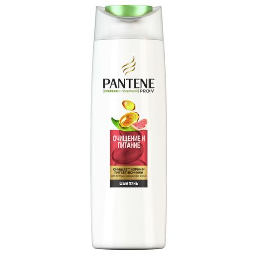 Pantene шампунь Слияние с природой Очищение и питание 400 млШампуни<br>
