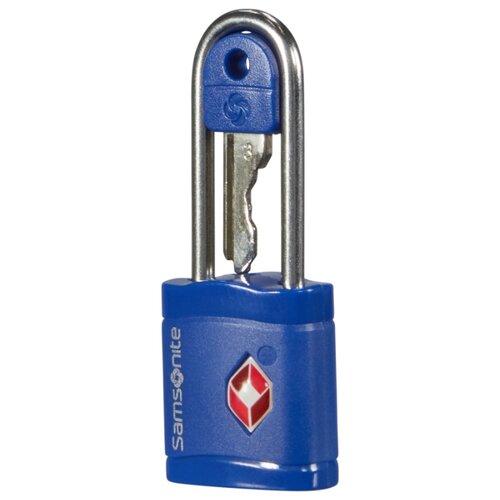 Замок для багажа Samsonite CO1-09038/11038/96038, синий ремень для багажа samsonite co1 11056 96056 09056 синий