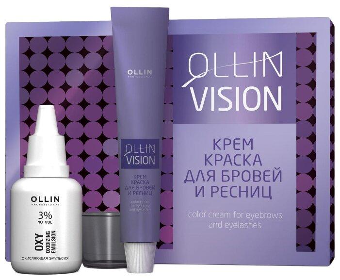OLLIN Professional Крем краска для бровей