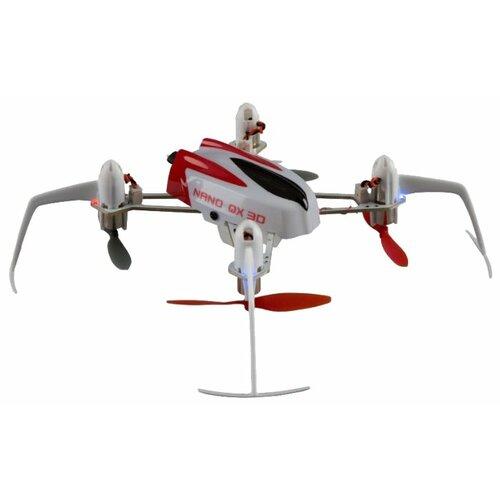 Фото - Квадрокоптер Blade Nano QX 3D BNF BLH7180 белый/красный радиоуправляемый квадрокоптер betafpv beta65s whoop quad frsky rx bnf