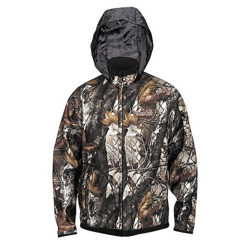Куртка охотничья двухсторонняя Norfin Hunting Trunder, цвет: staidness/black (размер XXL) костюм зимний norfin hunting north staidness xxl