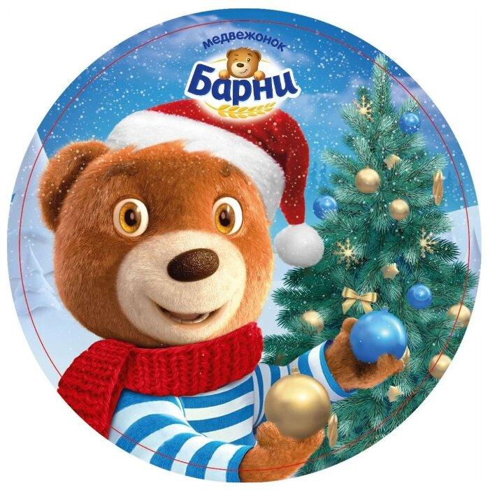 Подарочный набор Медвежонок Барни новогодний 300 г