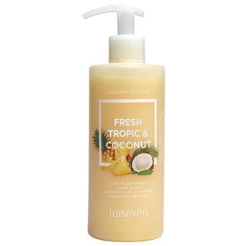 Мыло жидкое Laiseven Fresh Tropic & Coconut, 400 мл молочко косметическое laiseven ваниль 400 мл