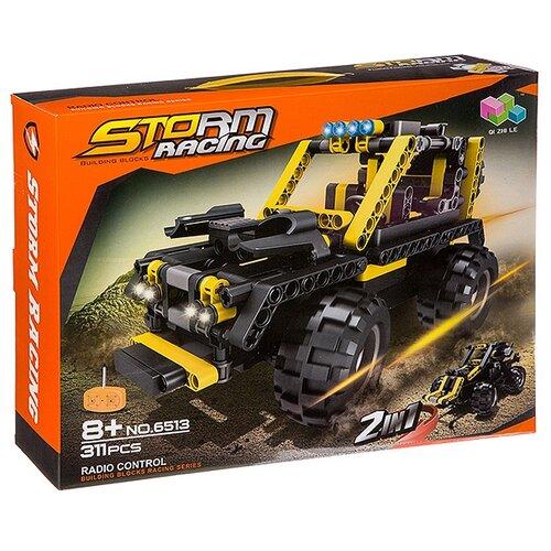 Электромеханический конструктор Qi Zhi Le Storm Racing 6513 Внедорожник