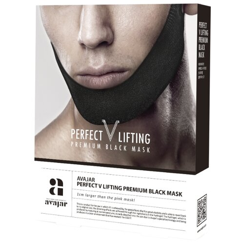 Avajar Мужская лифтинговая маска Perfect V Lifting Premium Black Mask 45 г 5 шт. onone perfect mask premium edition 5 2 3 rus