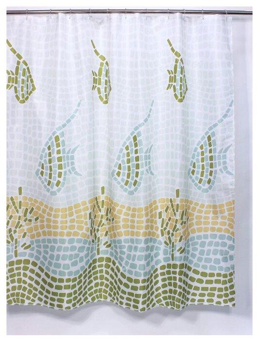 Штора для ванной Bath Plus Ocean Mosaic