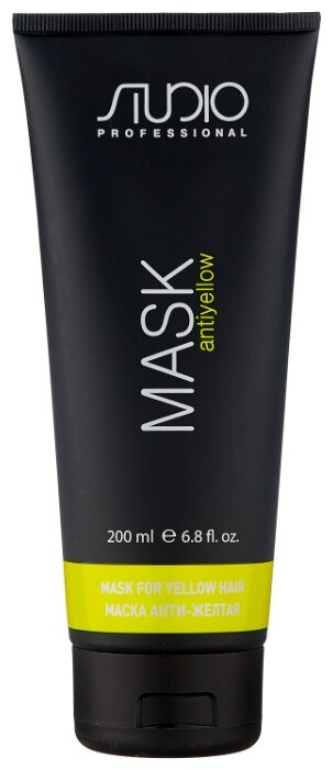 Kapous Professional Studio Professional Маска для волос Анти-желтая «Antiyellow»