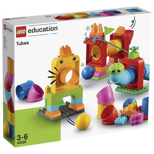 Купить Конструктор LEGO Education PreSchool DUPLO 45026 Новый набор с трубками, Конструкторы