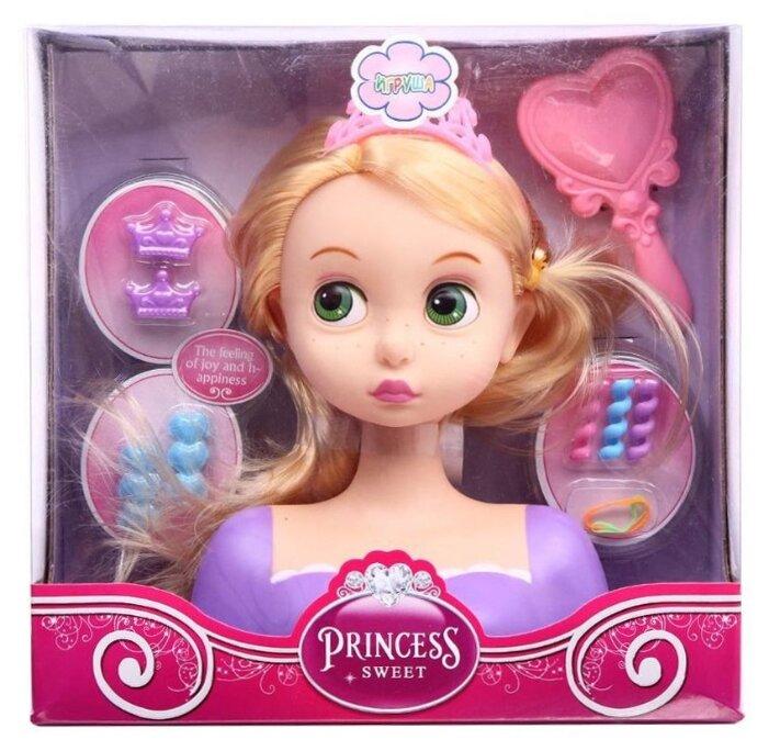 Кукла-манекен Игруша для создания причесок, 23 см, ES-6869-DSM