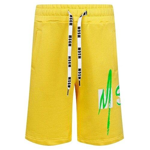 Бермуды MSGM размер 140, желтый msgm кардиган