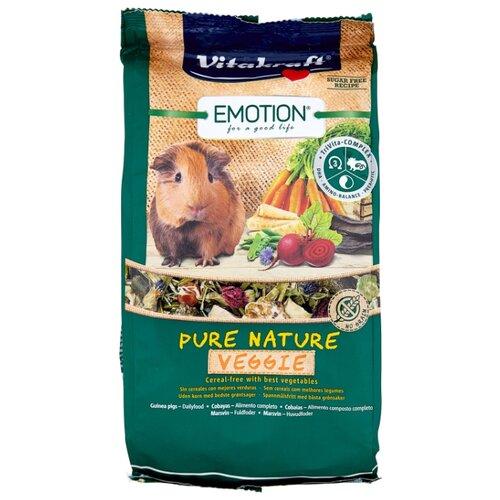 Корм для морских свинок Vitakraft Emotion Pure Nature Veggie 600 г корм для кроликов vitakraft pure nature herbal сух 600г