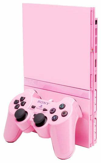Игровая приставка Sony PlayStation 2 Slim Pink