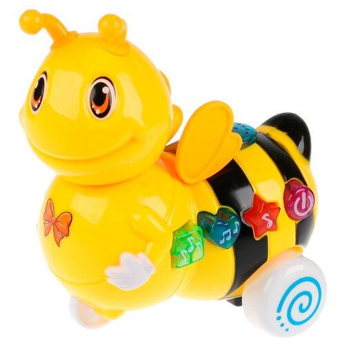 Купить Каталка-игрушка Умка Пчелка (B1351373-R) желтый, Каталки и качалки