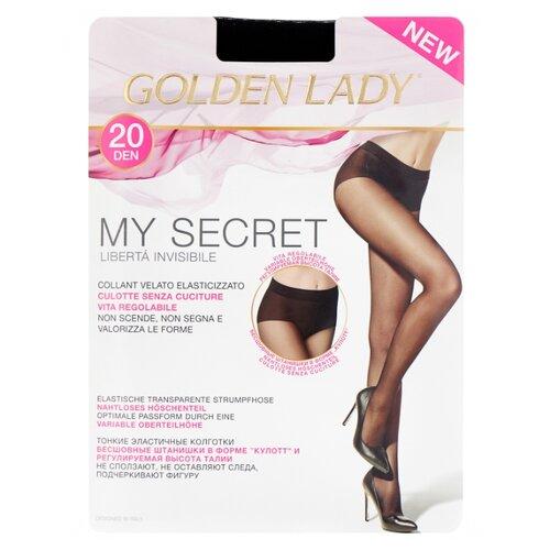 Колготки Golden Lady My Secret 20 den, размер 3-M, nero (черный) колготки golden lady ciao 20 den размер 3 m nero черный