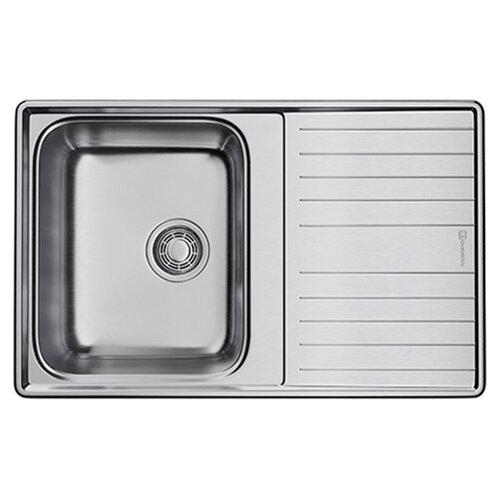 Врезная кухонная мойка 79 см OMOIKIRI Sagami 79 IN нержавеющая сталь врезная кухонная мойка 79 см smeg sp791s 2 нержавеющая сталь матовая