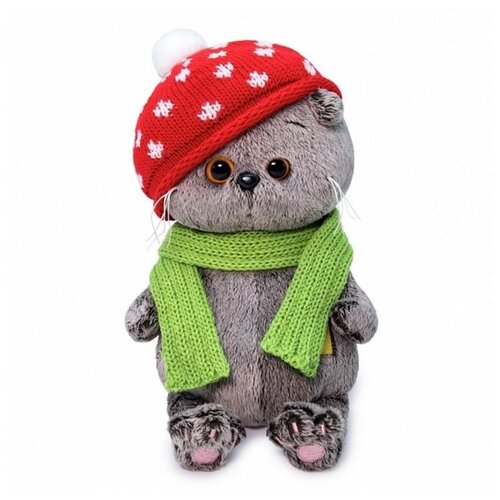 Фото - Басик BABY в шапке мухомор 20 см BudiBasa BB-066 игрушка мягкая budi basa басик baby в шапке панда 20 см bb 070