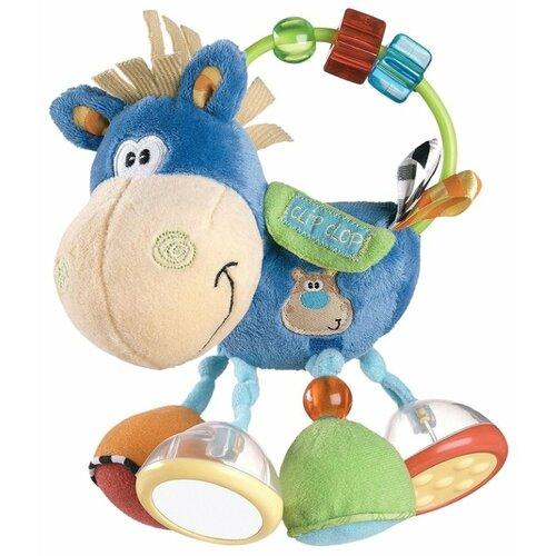 Погремушка Playgro Activity Rattle голубой playgro щенок 0185471