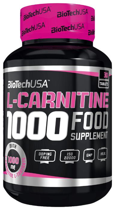 BioTech L-Carnitine 1000 (30 таб)