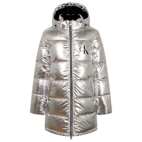 Куртка CALVIN KLEIN IG0IG00634 размер 174, серебряный