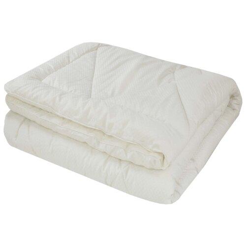 Одеяло Василиса Deluxe Кашемир, всесезонное, 172 х 205 см (кремовый) одеяло dream time верблюжья шерсть всесезонное 172 х 205 см кремовый