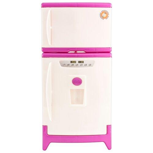 Купить Холодильник Orion Toys двухкамерный 808 бежево-розовый, Детские кухни и бытовая техника