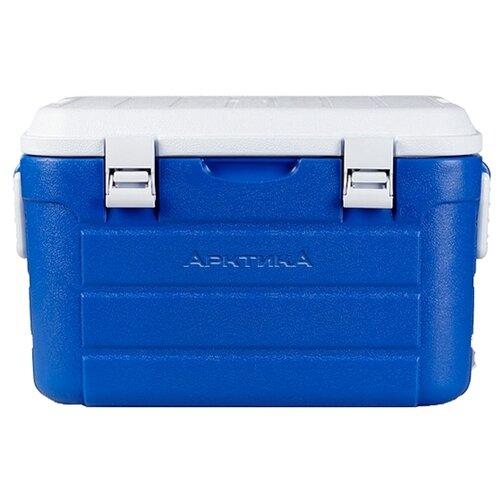 Арктика Изотермический контейнер с боковыми ручками и верхним клапаном синий 30 л