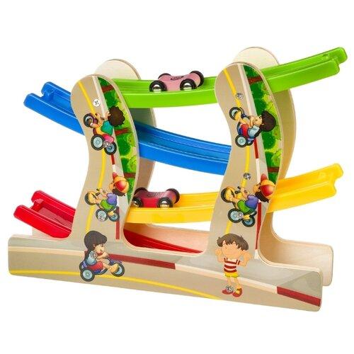 Развивающая игрушка BONDIBON Гонки мультиколор