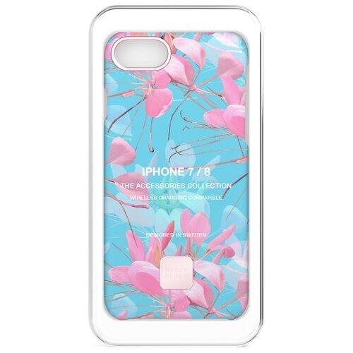 Чехол-накладка Happy Plugs 9301 + защитная пленка для Apple iPhone 7/iPhone 8 botanica exotica чехол накладка happy plugs 9337 для apple iphone xs max botanica exotica