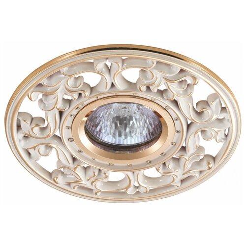 Встраиваемый светильник Novotech Vintage 369989 встраиваемый светильник novotech vintage 369943