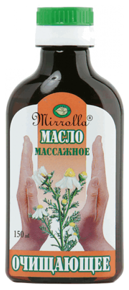 Масло для тела Mirrolla массажное Очищающее