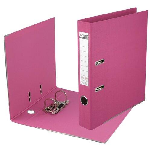 Axent Папка-регистратор Prestige A4 с двусторонним покрытием, 7,5 см розовый