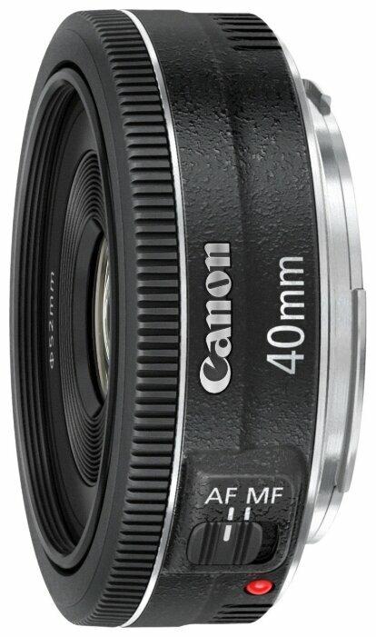 Объектив Canon EF 40mm f/2.8 STM фото 1