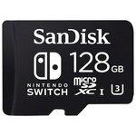Карта памяти SanDisk Nintendo Switch microSDXC Class 10 UHS Class 3