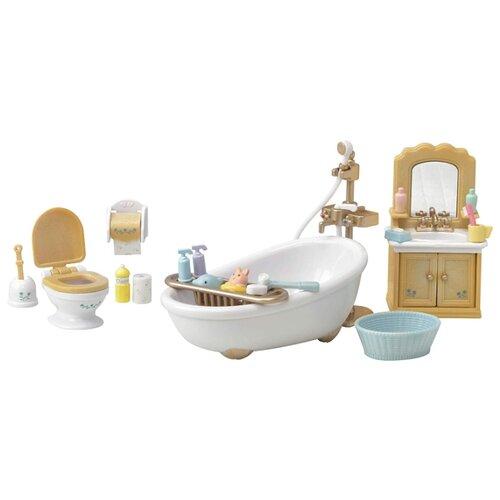 Купить Игровой набор Sylvanian Families Мебель для ванной комнаты 5286, Игровые наборы и фигурки