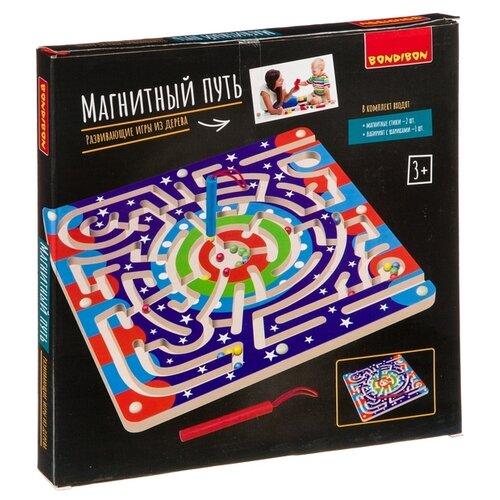 Купить Настольная игра BONDIBON Магнитный путь ВВ4193, Настольные игры
