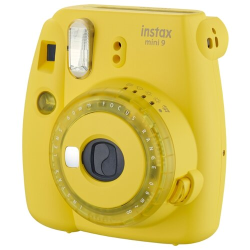 Фото - Фотоаппарат моментальной печати Fujifilm Instax Mini 9 yellow электрический накопительный водонагреватель zanussi zwh s 10 mini o yellow