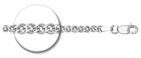 SOKOLOV Серебряная цепочка 968060502 — где купить по выгодной цене на Яндекс.Маркете