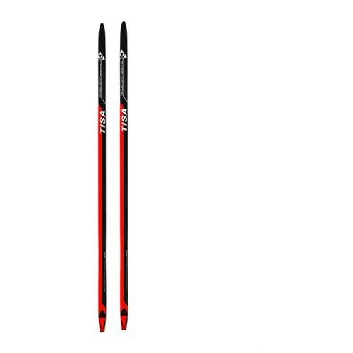 Беговые лыжи Tisa Race Cap Skating красный/черный 162 см