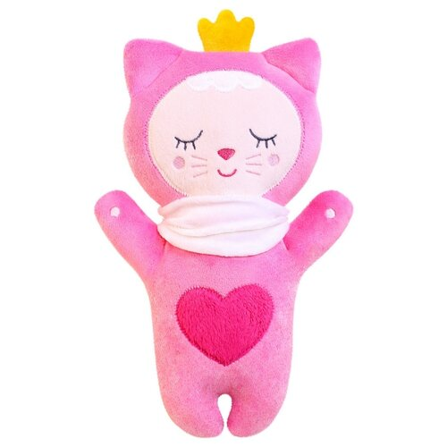 Купить Мягкая игрушка Мякиши Sleepy Toys Котенок 28 см, Мягкие игрушки