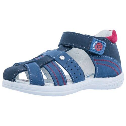 Фото - Сандалии КОТОФЕЙ размер 27, 24 синий/красный сандалии regatta размер 33 синий красный