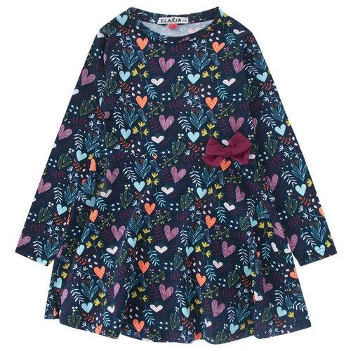 Платье Elaria размер 128, индигоПлатья и сарафаны<br>