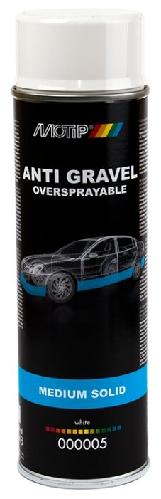 Жидкий антигравий MOTIP Anti Gravel Medium Solid