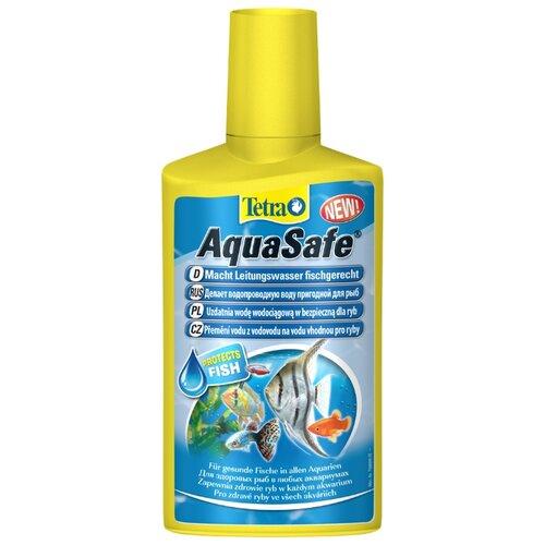Фото - Tetra AquaSafe средство для подготовки водопроводной воды, 250 мл tetra torumin средство для подготовки водопроводной воды 250 мл